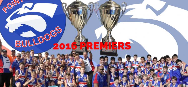 PREMIERS 2016 – 13A's & 13C's