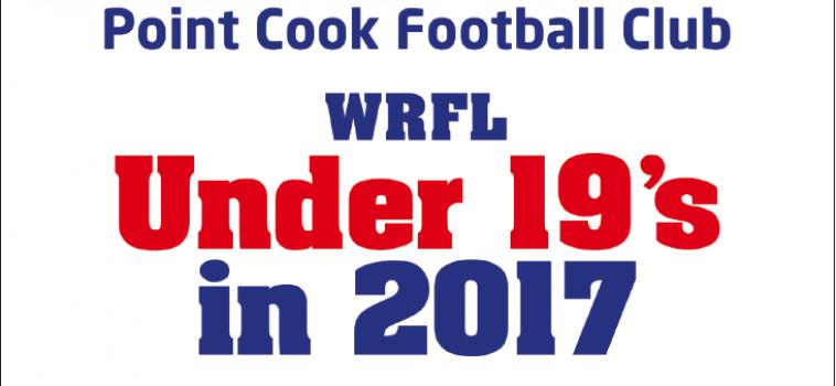 PCFC SEEKING U19 PLAYERS FOR 2017